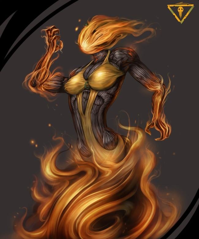 �ҷ��� ���� ! flame pumpkin girl !!