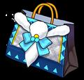 북극여우 보송 의상 쇼핑백(여성용)