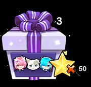 Re:제로 인형 가방의 선물 상자 x3