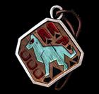 봉인된 동물 캐릭터 분양 메달 이미지