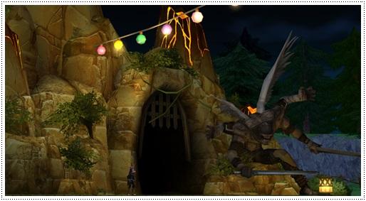 시험의 동굴 이미지